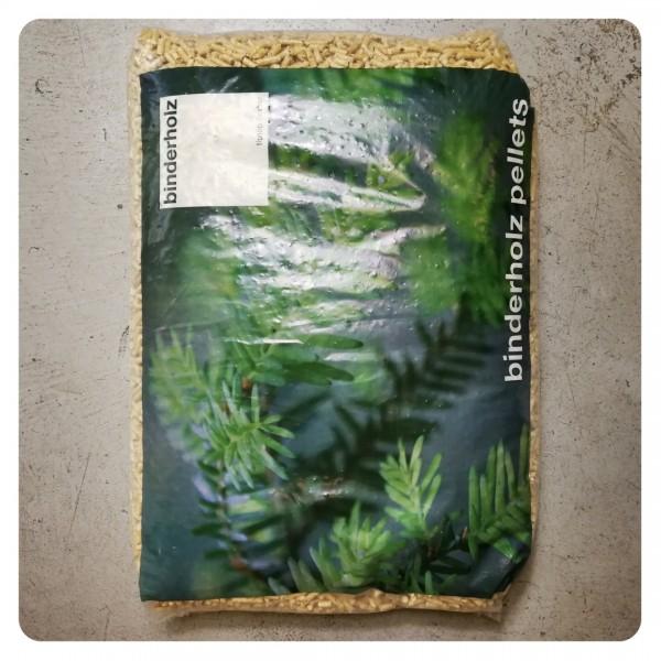 Binder bancale di pellet di abete chiaro austriaco certificato da 70 sacchi