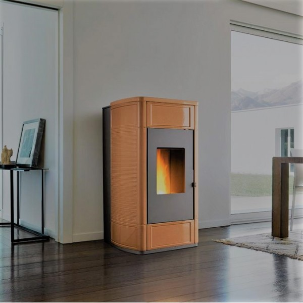 P988 TH thermo a pellet Piazzetta 22.6 kw