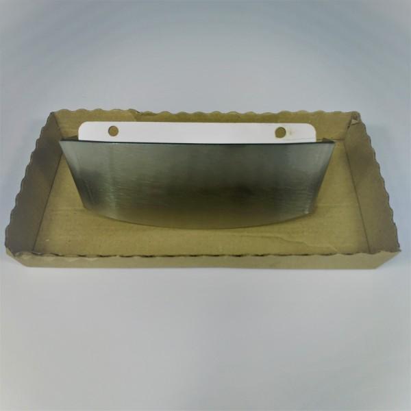 Deflettore per braciere in acciaio inox per stufe e caminetti Piazzetta
