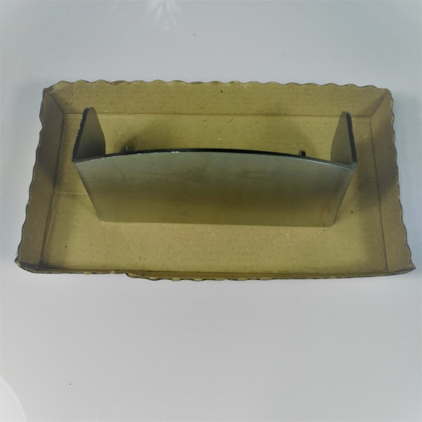 Deflettore per braciere in acciaio inox Piazzetta per stufe a pellet da 8 kw