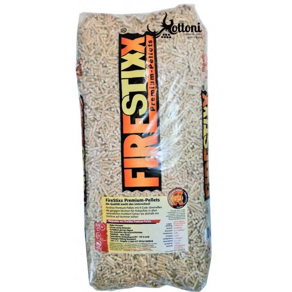 Pellet Firestixx - Bancale da 66 sacchi da 15kg
