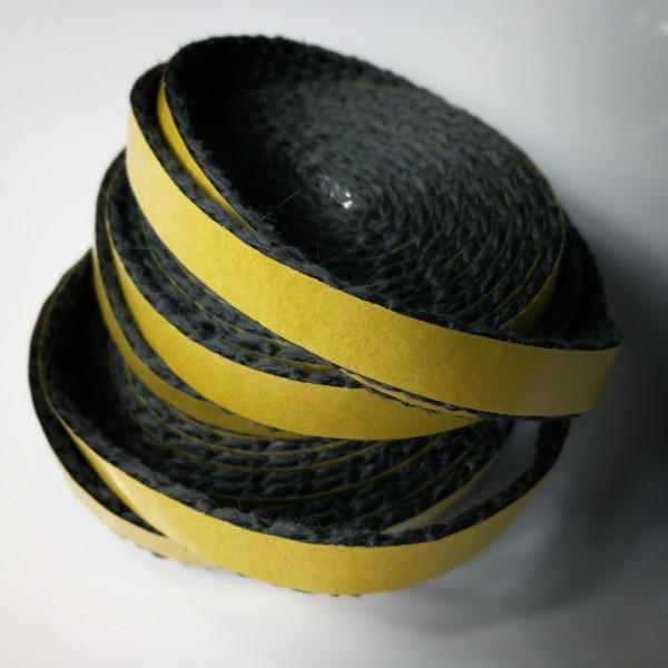 Nastro in fibra di vetro nero 10 x 2 adesivo mt 5