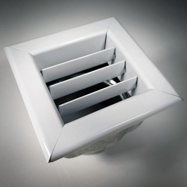 Bocchetta con chiusura in acciaio verniciata bianca Piazzetta N08011004