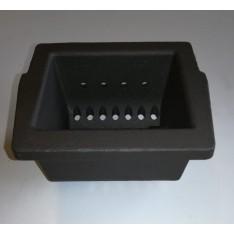 Braciere di ricambio piccolo in ghisa, per stufe a pellet Superior Cleo e Clemy e altri modelli elencati