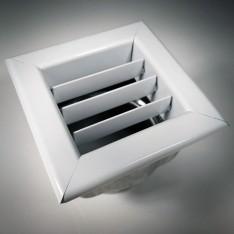 Bocchetta senza chiusura in acciaio verniciata bianca Piazzetta N08011003